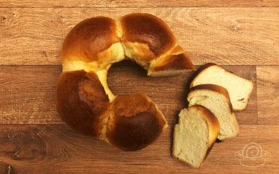 Receita de Pão de Hokkaido com método Tangzhong