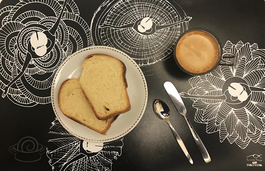 Pão de leite de Hokkaido com método Tangzhong