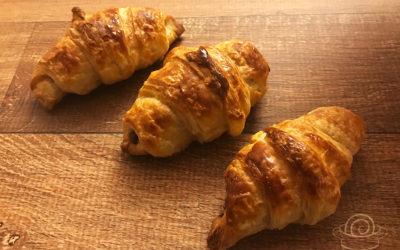 Receita do Croissant (de chocolate!) pra fazer em casa