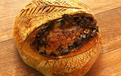 Receita de Pão Sourdough com Nozes