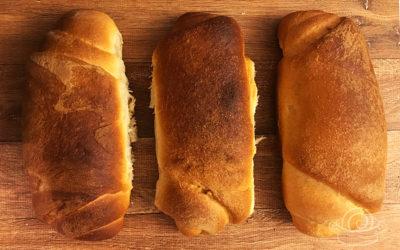 Receita do Pão de Cristo feito com fermento de litro
