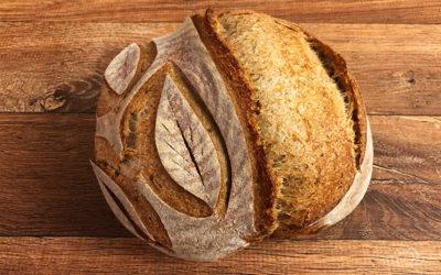 Pão Sourdough Semi-integral com farinha Fazenda Vargem