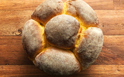 Receita do Pão de Milho de fermentação natural